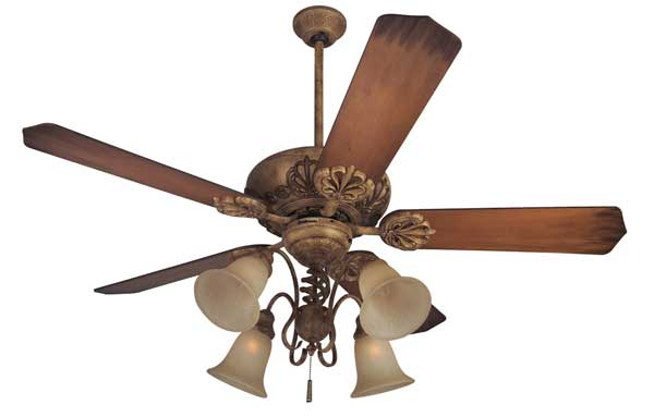 Cordova Ceiling Fan & Light Fixture