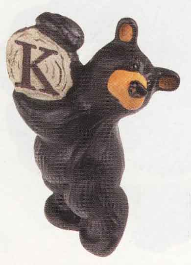 Bearfoots Letter K