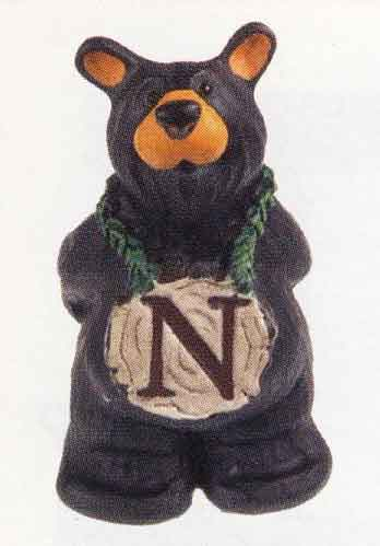 Bearfoots Letter N
