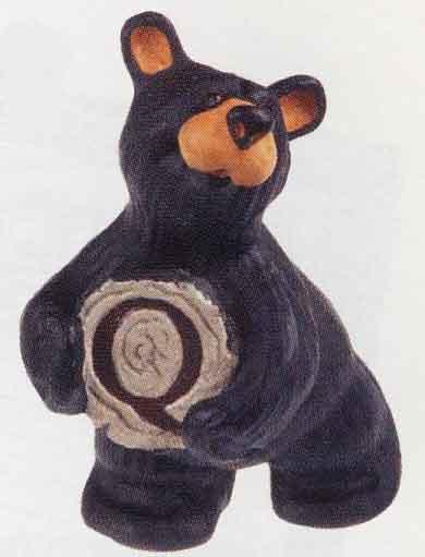 Bearfoots Letter Q