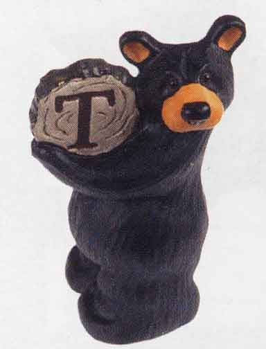 Bearfoots Letter T