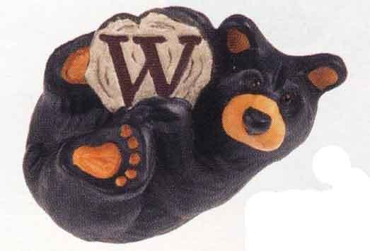 Bearfoots Letter W