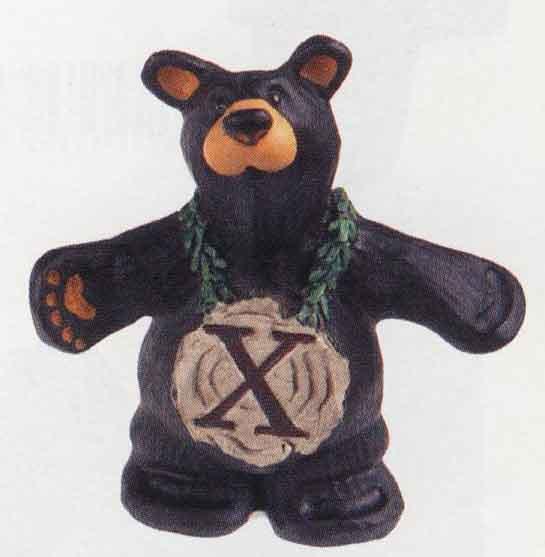 Bearfoots Letter X