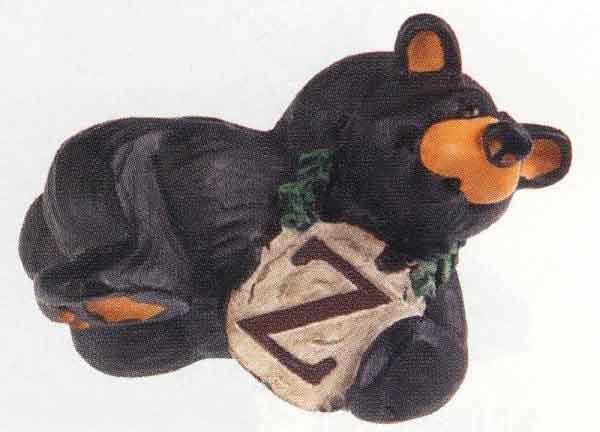 Bearfoots Letter Z