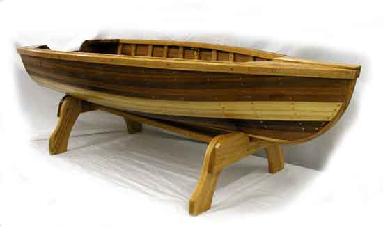 Cedar Strip Boat Coffee Table