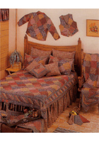 Harvest Log Cabin Linens