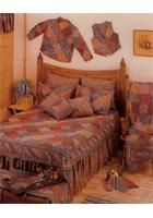 Harvest Log Cabin Linens