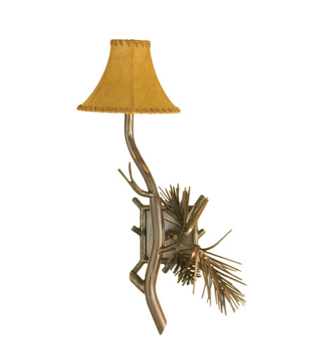 Pine Single Light Wall Sconce
