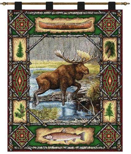 Moose Lodge Wall Hanging