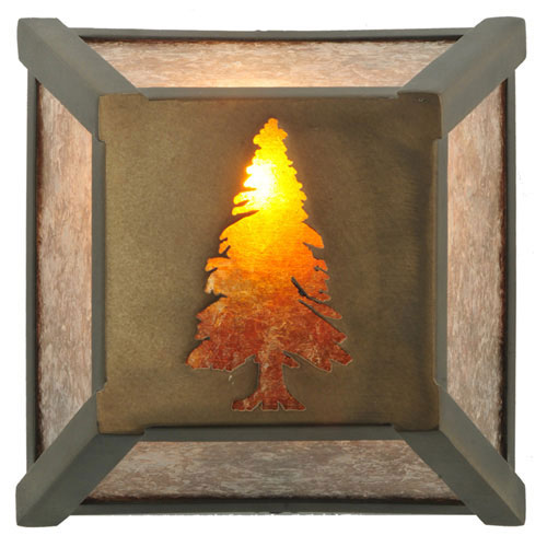 Tall Pine Wall Sconce