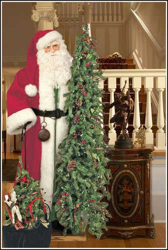 Bag of Toys - Father Christmas Statue