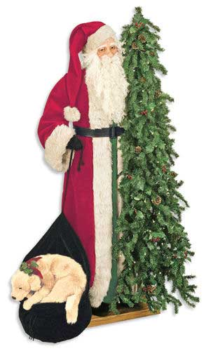 Father Christmas Statue - Christmas Cheer