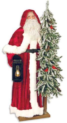 Father Christmas Statue - Glacial Christmas