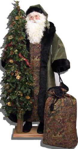 Father Christmas Statue - Christmas Sage