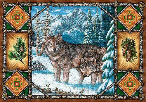Wolf Lodge Place Mat