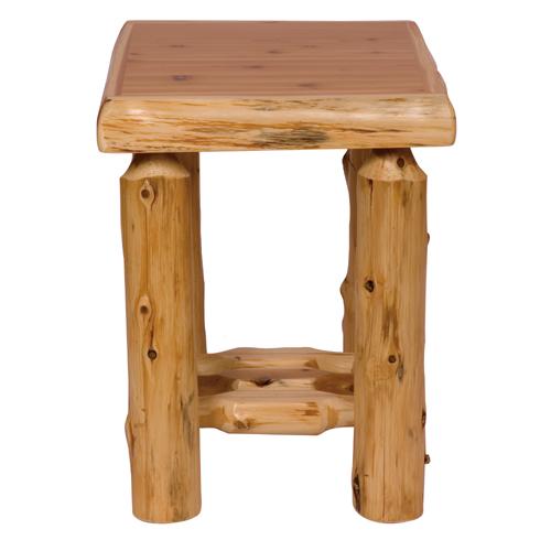 Cedar Open Nightstand