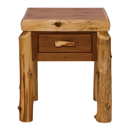 Cedar One Drawer Nightstand