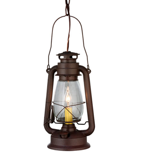Miner's Lantern Mini Pendant Light