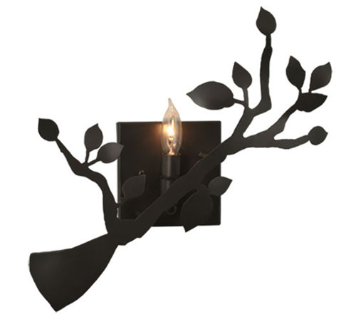 Oak Branch Wall Sconce