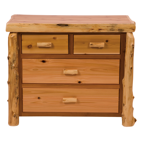 Cedar 4 Drawer Low Boy