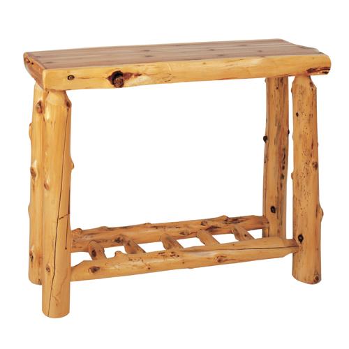 Cedar Sofa Table