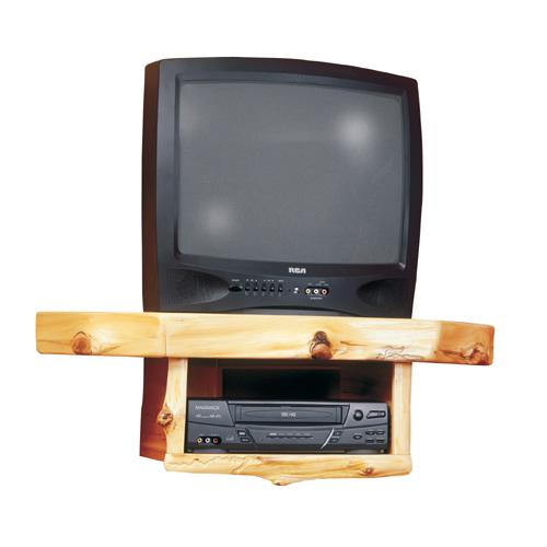 Cedar Corner TV Shelf