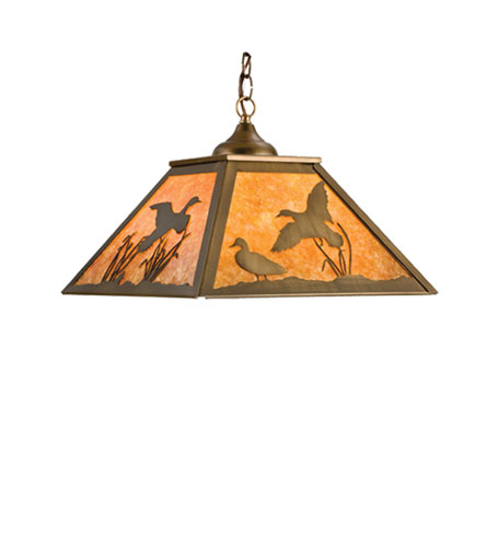 Ducks in Flight Mini Pendant Light