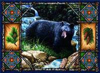 Bear Lodge Place Mat