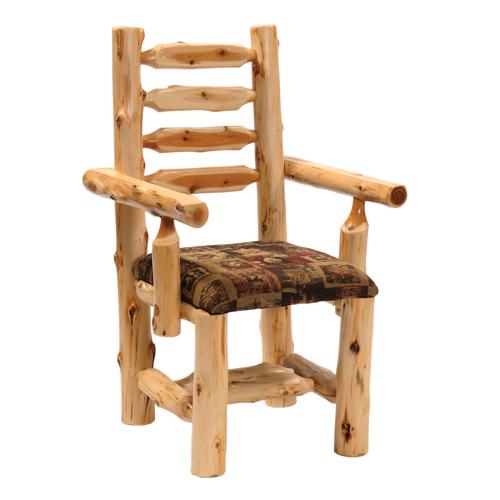 Cedar Upholstered Arm Chair