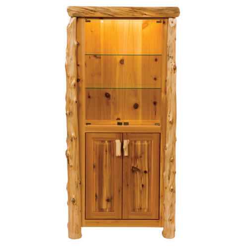 Cedar Display Cabinet
