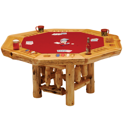 Cedar Convertable Poker Table