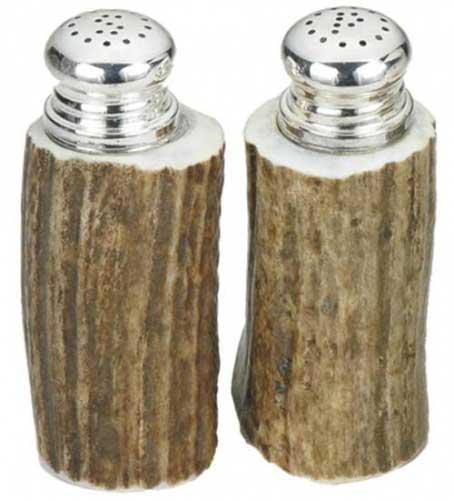 Antler Salt and Pepper Shaker Set