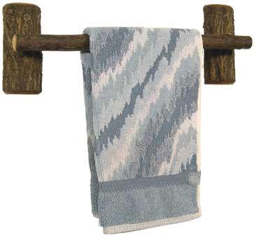 Hickory Towel Bar