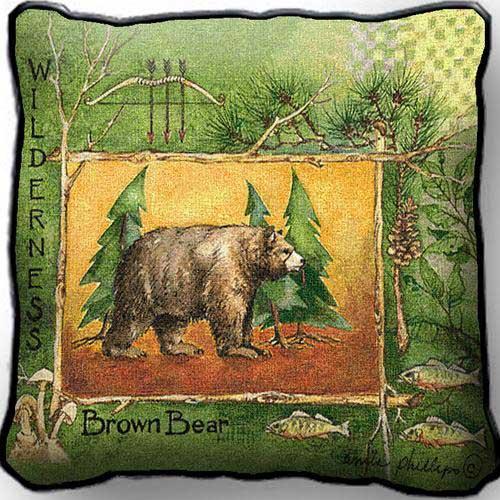 Brown Bear Pillow