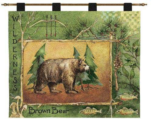 Brown Bear Wall Hanging