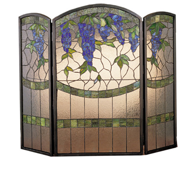 Wisteria Fireplace Screen
