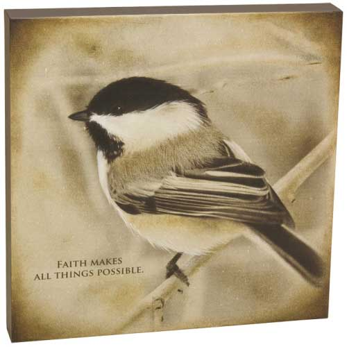 Chickadee Faith