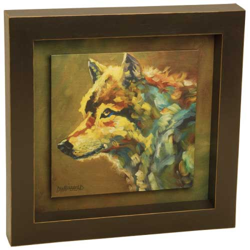 Wolf Shadow Box