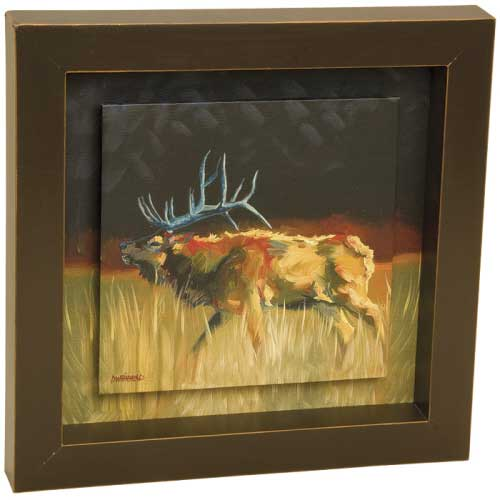 Elk Shadow Box