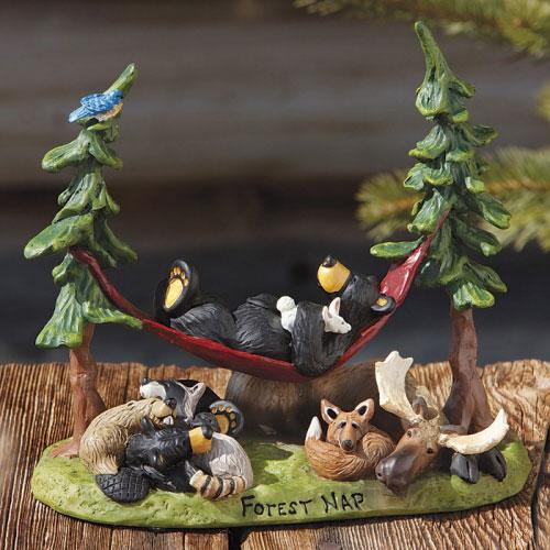 Forest Nap Bearfoots Figurine