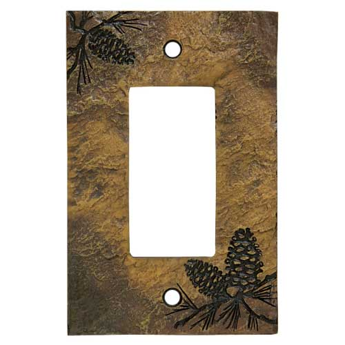 Pinecone Decora Switch Plate Cover