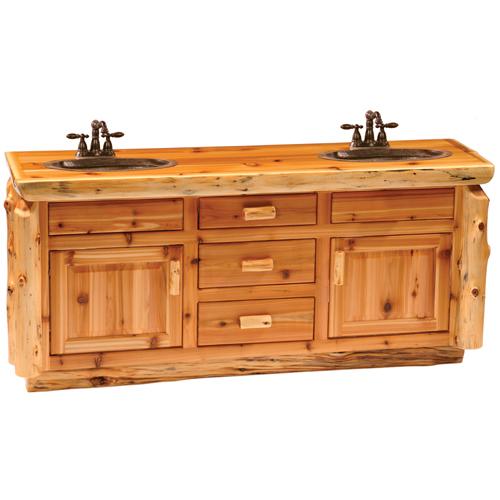 Cedar Bathroom Vanity