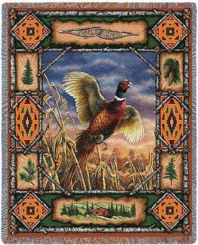 Pheasant Lodge Throw