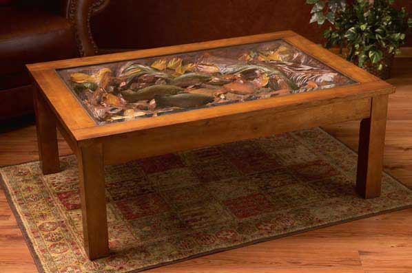 William Herrick Trout Stream Coffee Table II