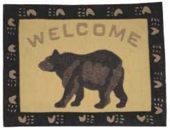 Bear Welcome Rug