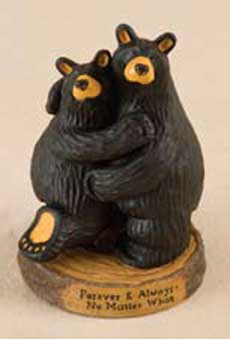 """Forever and Always"" Bearfoots Figurine"