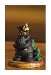 """""""Bear Hugs"""" Bearfoots Figurine"""