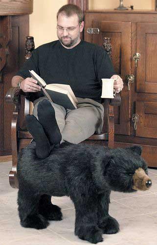 Black Bear Foot Rest