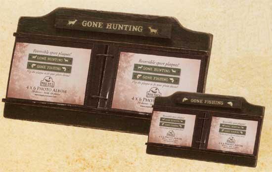 Gone Hunting/Fishing Tabletop Album