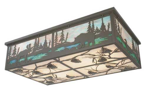Wilderness Flushmount Ceiling Light Fixture